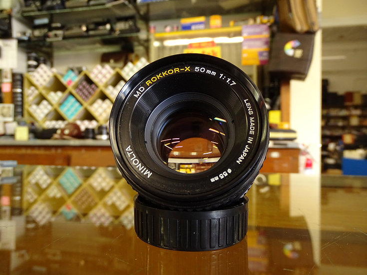 ROKKOR-X 50mm f/1.7