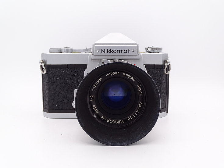 Nikkormat FT w/ 50mm f/2