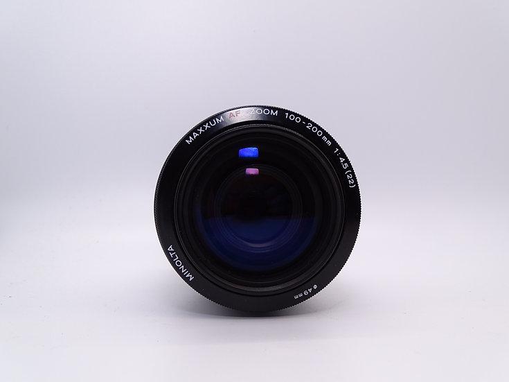 Minolta 100-200 f/4.5 AF