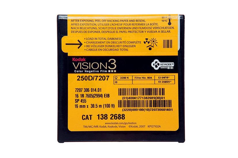 Kodak Vision3 250D - 16mm - 100 Foot