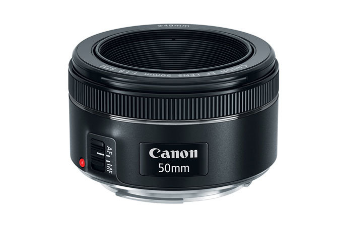 Canon 50mm f/1.8 STM - New