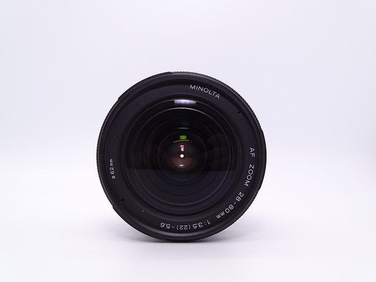 Minolta 28-80 f/3.5-5.6 AF