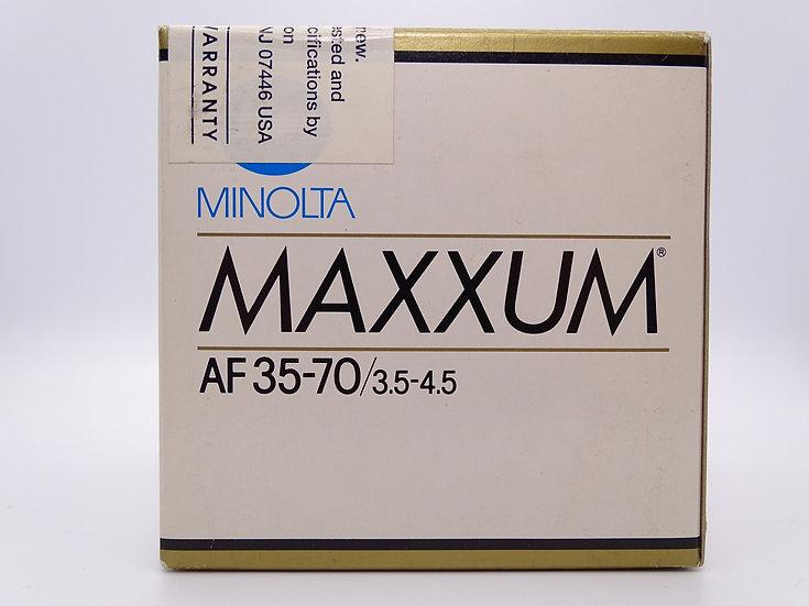 Minolta 35-70 f/3.5-4.5 AF IN BOX