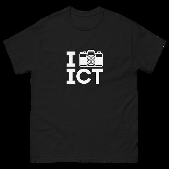 I Photograph ICT - Men's heavyweight tee White Logo