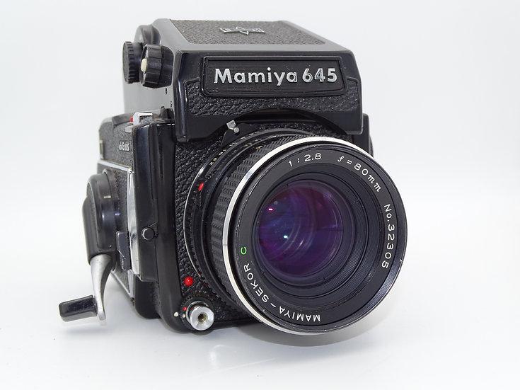 Mamiya 645 1000s w/ 80mm f/2.8
