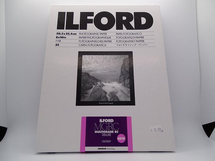 Ilford Multigrade RC Deluxe Glossy 8x10