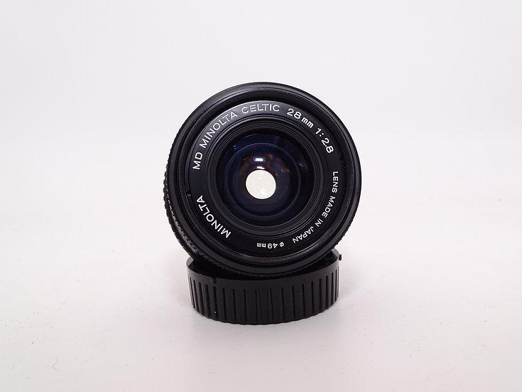 Minolta MD 28mm f/2.8 Celtic