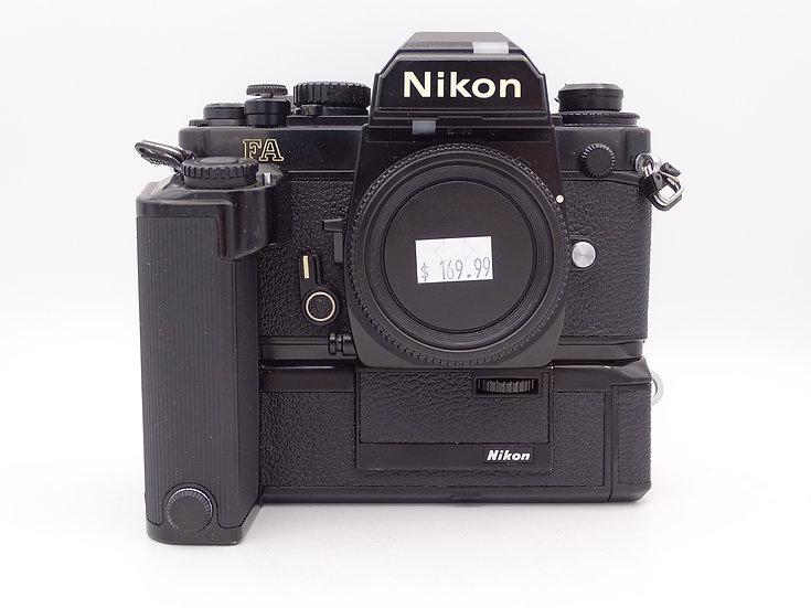 Nikon FA w/ MD-15 Winder