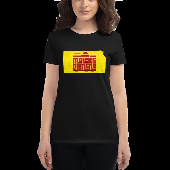 Women's short sleeve Moler's Camera Kansas t-shirt