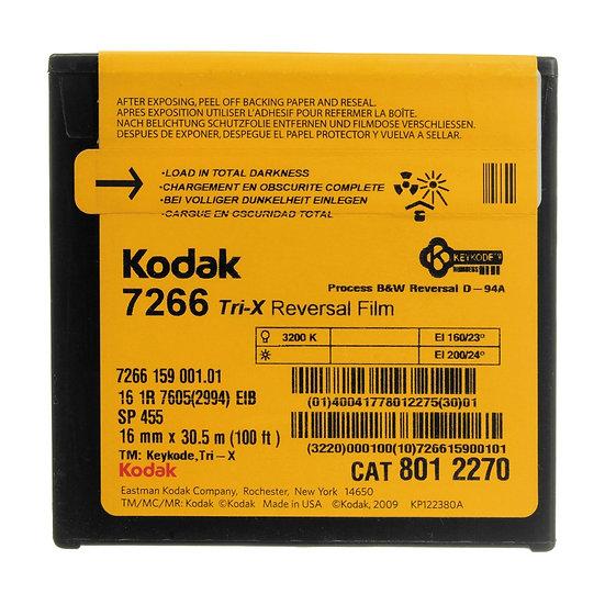 Kodak Tri-X Reversal - 16mm -100 Foot