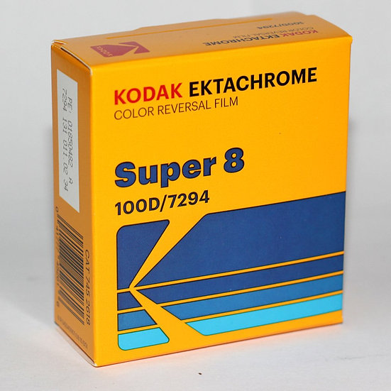 Kodak Ektachrome 100D - Super 8