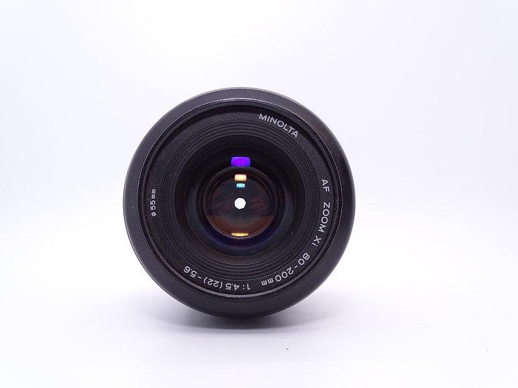 Minolta 80-200 f/4.5-5.6 AF