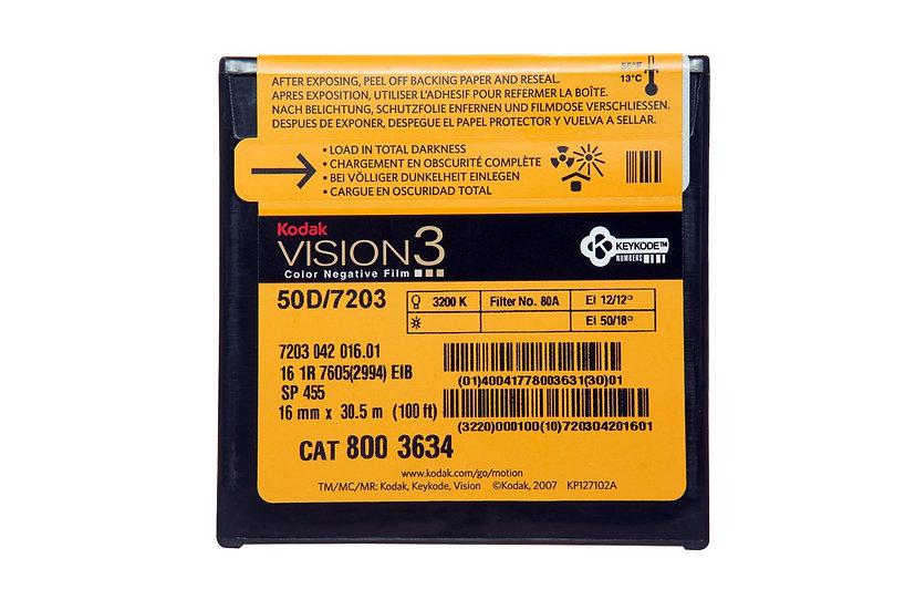 Kodak Vision3 50D - 16mm - 100 foot