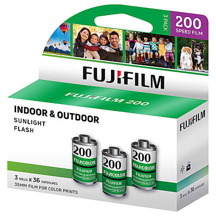 FUJICOLOR C200 - 135-36 - 3 Pack