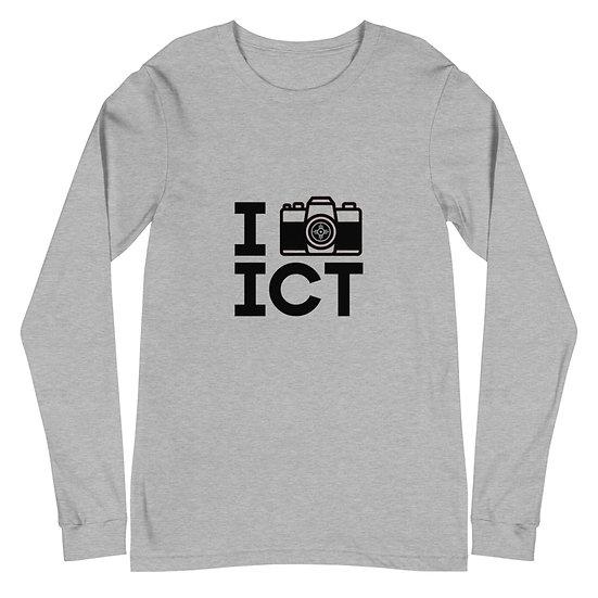 I Photograph ICT - Unisex Long Sleeve Tee Black Logo
