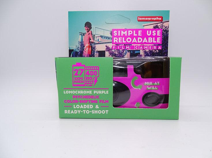 Lomography Simple Use Purple Film Camera