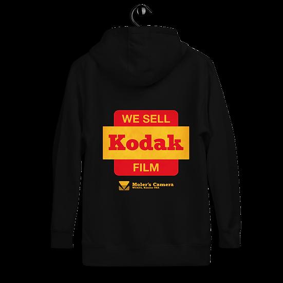 Kodak Film Moler's Camera Unisex Hoodie