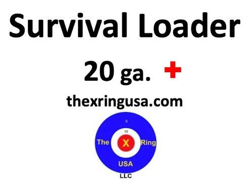 20 ga. Survival Loader - PLUS (premium)