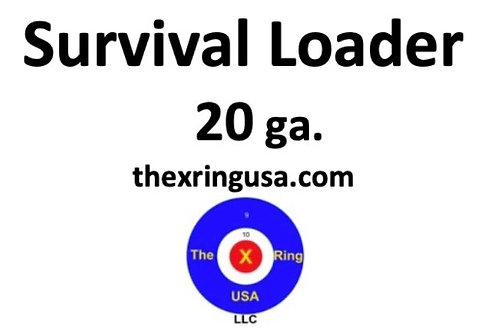 20 ga. Survival Loader  - Basic