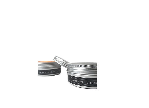 Outdoor Luxury Candle in Tin
