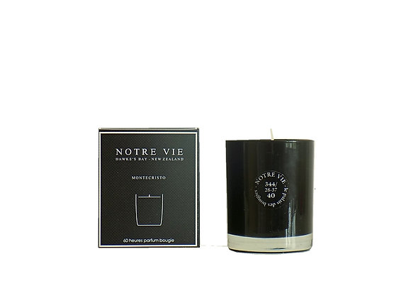 Monsieur Black Glass Candle in Giftbox