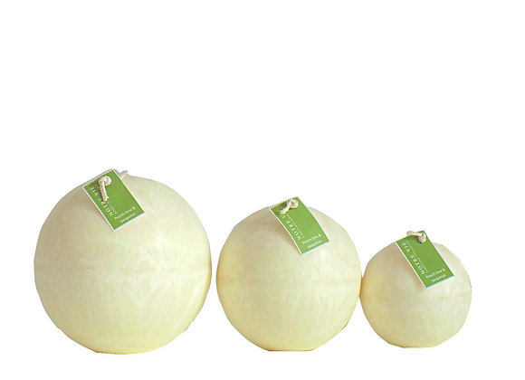 Ball Candles, French Lime & Bergamot
