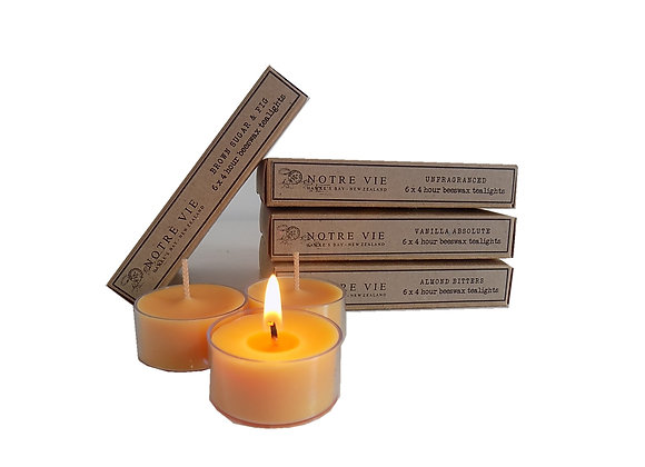 Parisian Tealights - Pack of 6