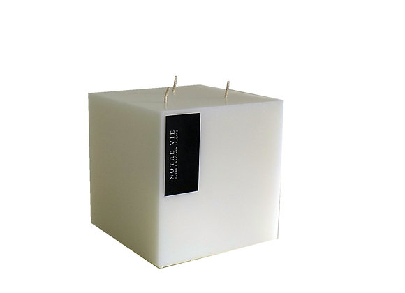 3 Wick Square Candle