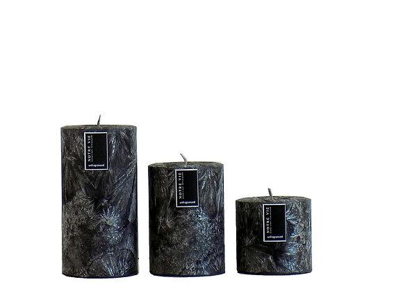 75mm Pillars Black