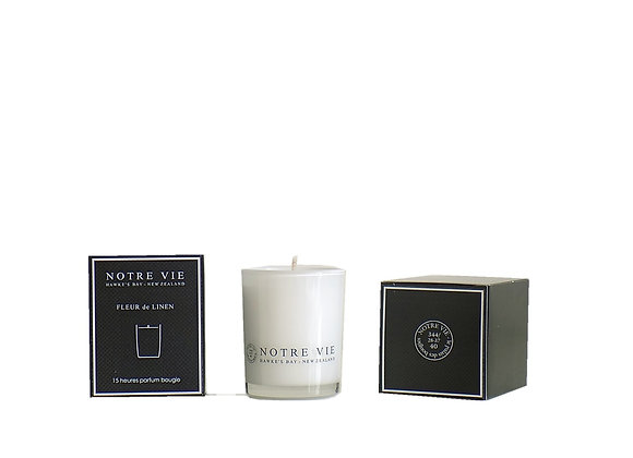 Boxed, Votive Glass Candle (incl. GST)
