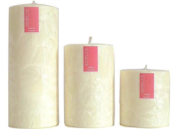 Saison 100mm Pillars, Vanilla & Rosewater (incl. GST)