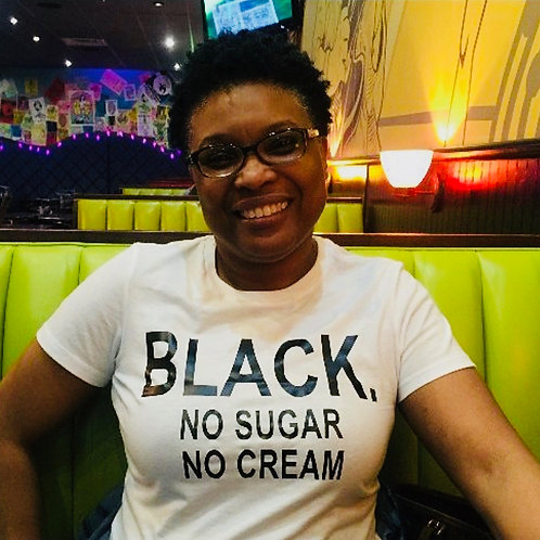 Black. No Sugar No Cream