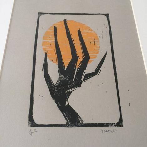 Linography 'Icarus'