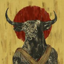Digital painting ' Minotaurus'