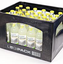 Kiste Fächerbräu Bio-Zitrone Logipack