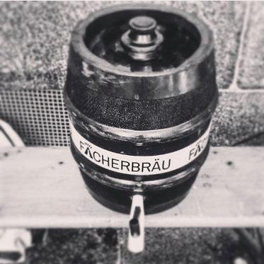 Fächerbräu Bio-Pils naturtrüb 15 Liter-Fass bayerischer Anstich
