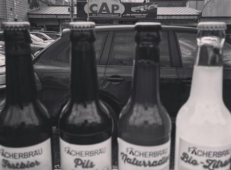 Cap-Markt: Verkostung mit Fächerbräu