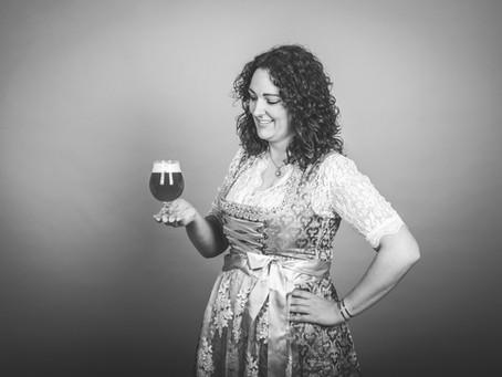 Wahl zur Bierkönigin: Fächerbräu-Mitarbeiterin Irina
