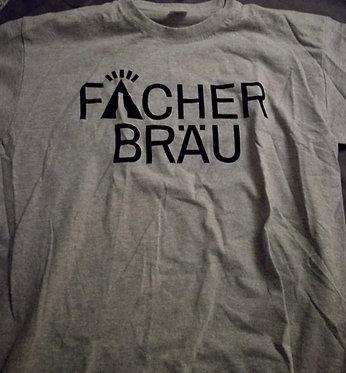 Fächerbräu T-Shirt mit beidseitigem Flock