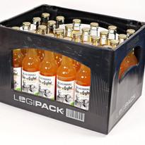 Kiste Fächerbräu Bio-Apfel Logipack