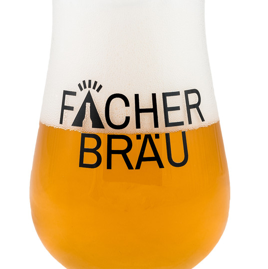 Glas Hell Fächerbräu