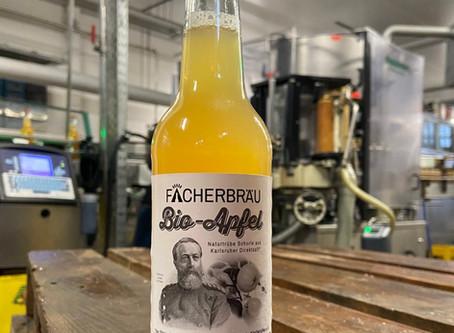 Neu: Fächerbräu Bio-Apfel aus Karlsruher Streuobst