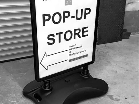 Neueröffnung: Pop-up Store von Fächerbräu