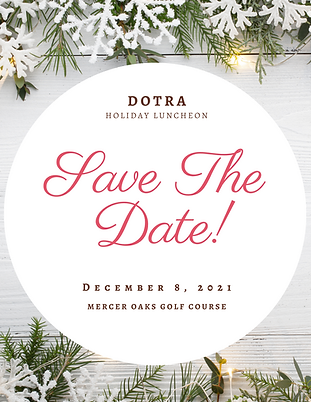Save the Date DOTRA Holiday Luncheon 202