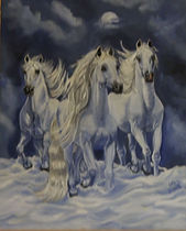 White Horses in Snow.JPG