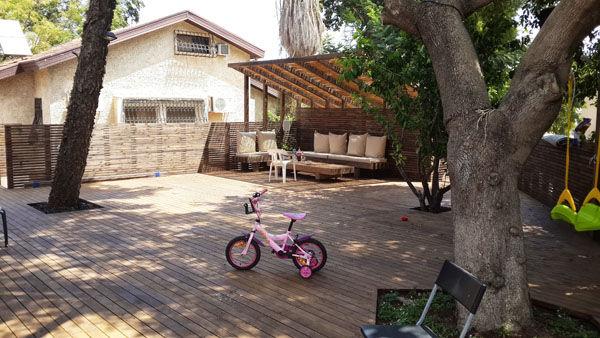 דקים למשחקי ילדים ורכיבת אופניים