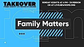 takeover video slide for family matters.