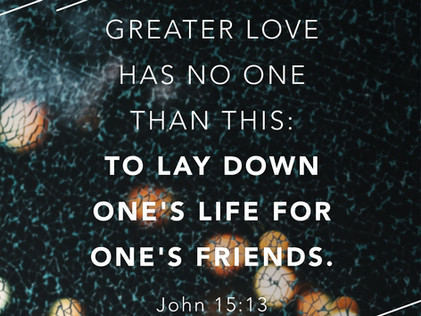 Back 2 Life- Good Friday- No Greater Love