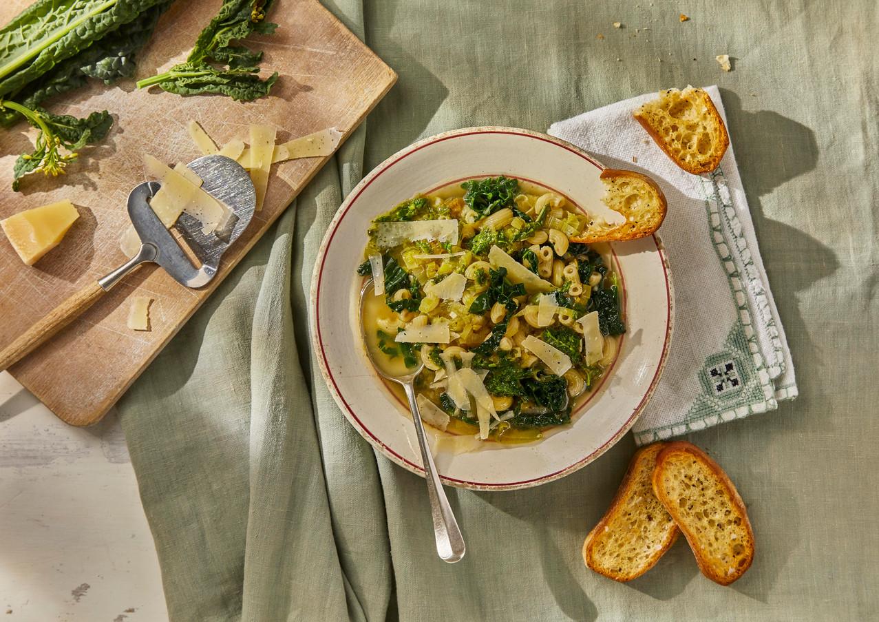 Minestrone Verde With Lemon & Basil (for Gousto)