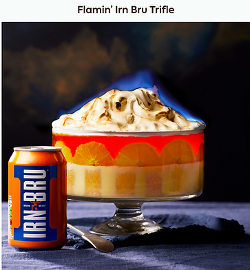 Flamin' Irn Bru Trifle